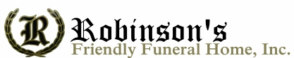 Robinson's Friendly Funeral Home, Inc. - Moss Point, MS 228-475-4392 & Laurel, MS 39440 601-426-2229